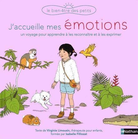 Chronique de l'album jeunesse J'accueille mes émotions