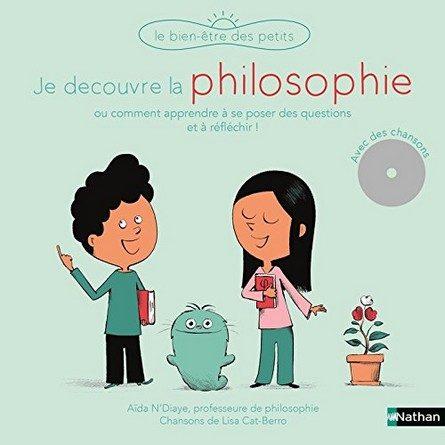 Chronique de l'album jeunesse Je découvre la philosophie.