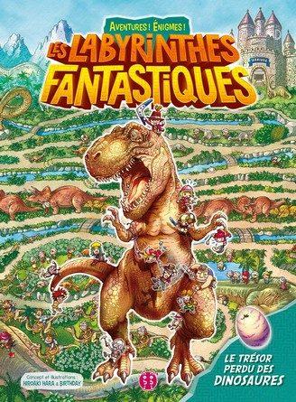 Chronique de l'album jeunesse Les labyrinthes fantastiques – Le trésor des dinosaures