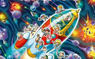 Chronique de l'album jeunesse Les labyrinthes fantastiques – Missions à travers l'espace