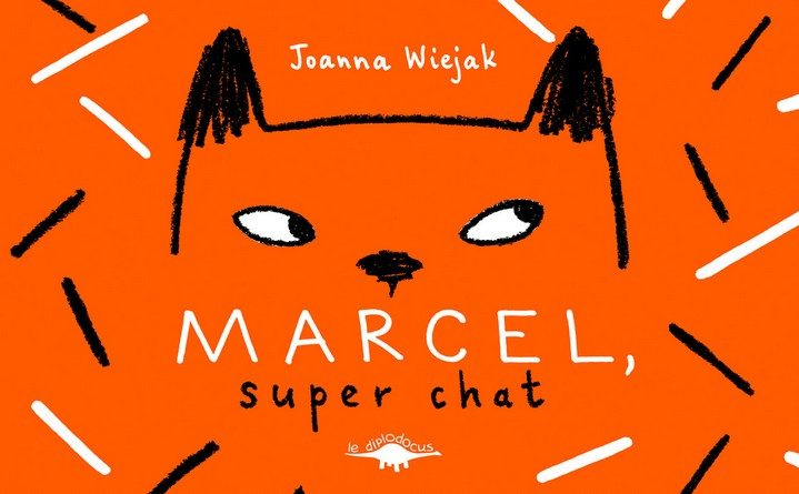 Chronique de l'album jeunesse Marcel, super chat