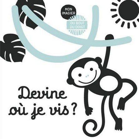 Chronique de l'album jeunesse Mon imagier du bout du doigt - Devine où je vis?