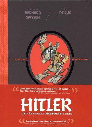 Chronique de la bande dessinée Hitler