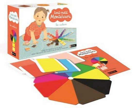 Chronique du coffret Tout-petit Montessori – Les couleurs