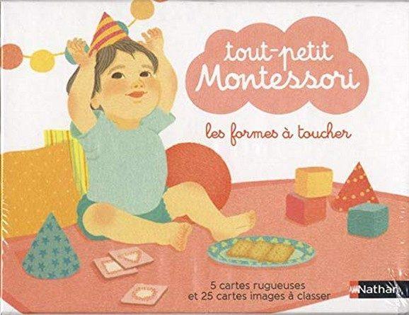 Chronique du coffret Tout-petit Montessori – Les formes à toucher