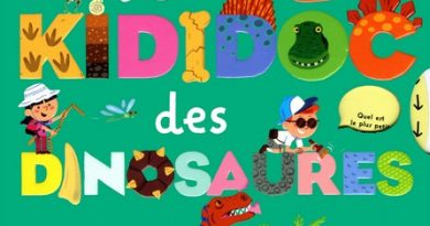 Chronique de l'album jeunesse Le KIDIDOC des Dinosaures