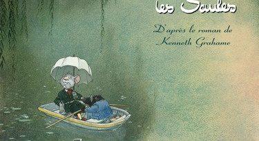 Chronique de la bande dessinée Le vent dans les saules: le bois sauvage