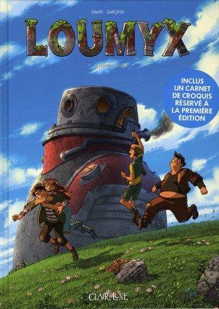 Chronique de la bande dessinée Loumyx