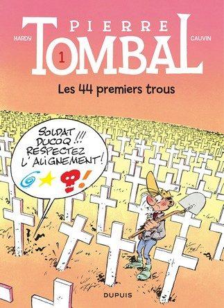 Chronique de la bande dessinée Pierre Tombal