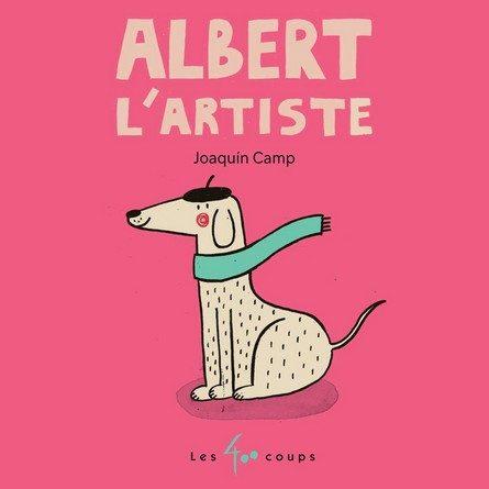 Chronique de l'album jeunesse Albert l'artiste