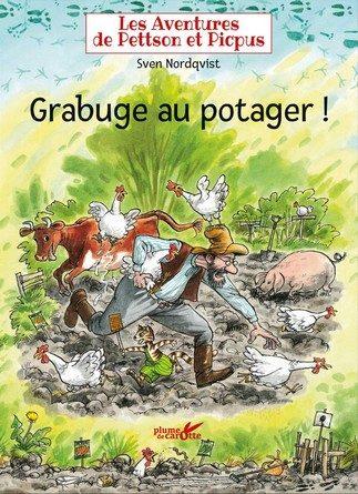 Chronique de l'album jeunesse Les aventures de Pettson et Picpus – Grabuge au potager