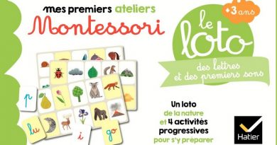 Chronique du coffret Mes premiers ateliers Montessori – Le loto des lettres et des premiers sons