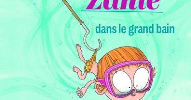 Chronique de l'album jeunesse Suzie Zanie dans le grand bain