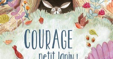 Chronique de l'album jeunesse Courage petit lapin!