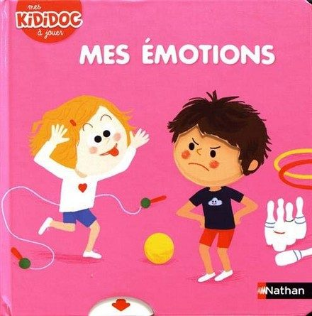 Chronique de l'album jeunesse Mes Kididoc à jouer – Mes émotions