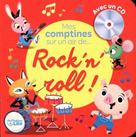 Chronique du livre-cd Mes comptines sur un air de Rock'n'roll
