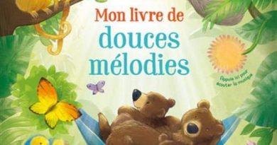 Chronique de l'album jeunesse Mon livre de douces mélodies