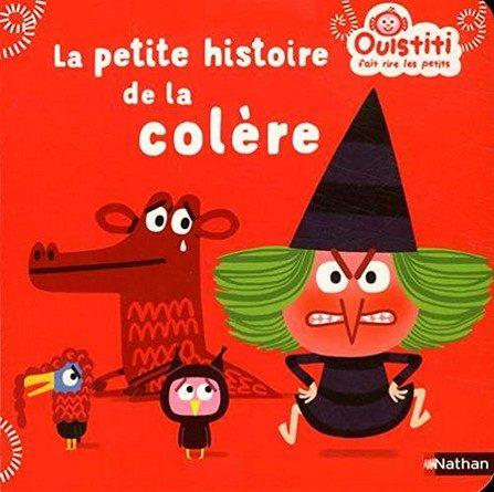 Chronique de l'album jeunesse Ouistiti fait rire les petits – La petite histoire de la colère