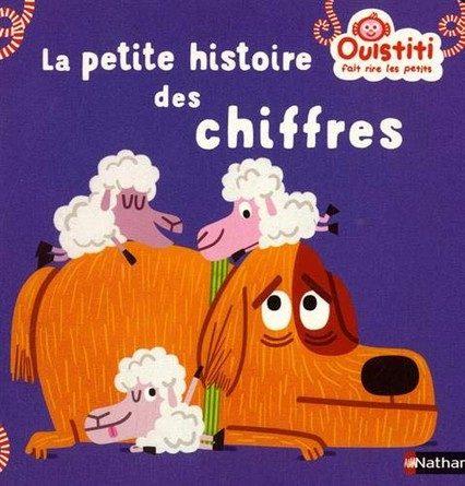 Chronique de l'album jeunesse Ouistiti fait rire les petits - La petite histoire des chiffres