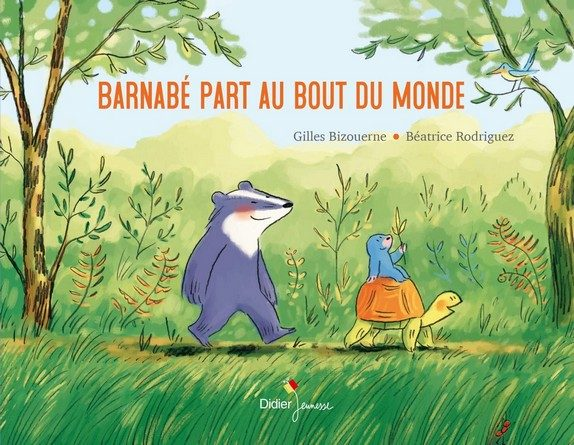 Chronique de l'album jeunesse Barnabé part au bout du monde