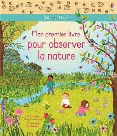 Chronique du livre Mon premier livre pour observer la nature