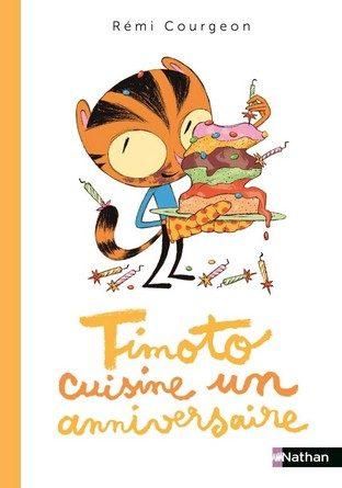 Chronique de l'album jeunesse Timoto cuisine un anniversaire
