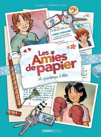 Chronique de la bande dessinée Les amies de papier : 12 printemps, deux étés
