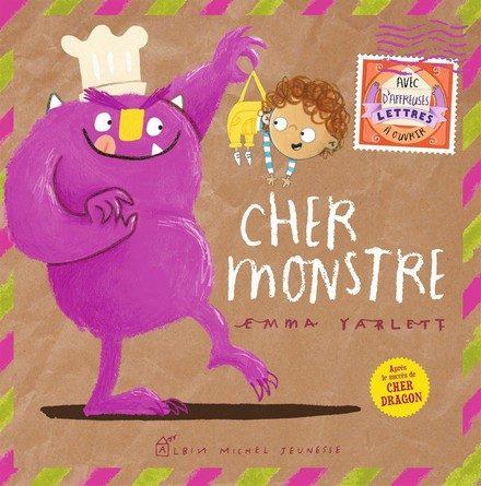Chronique de l'album jeunesse Cher Monstre