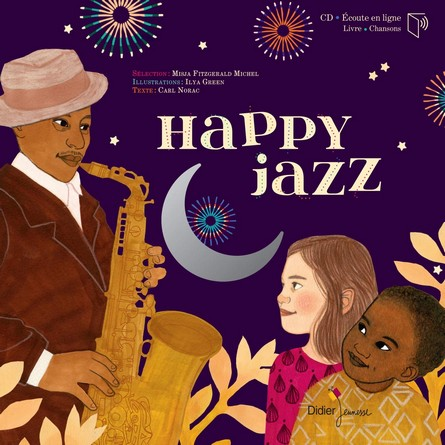 Chronique de l'album jeunesse Happy Jazz