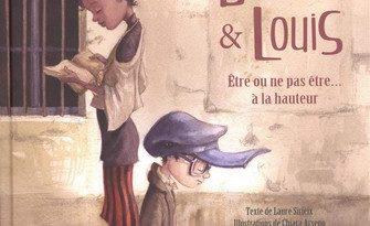 Chronique de l'album jeunesse Bertille et Louis être ou ne pas être... à la hauteur