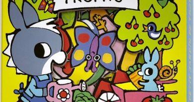 Chronique de l'album jeunesse Le petit jardin de Trotro