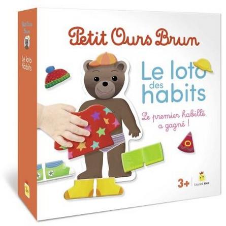 Chronique du coffret Petit Ours Brun – Le loto des habits