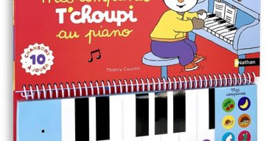 Chronique de l'album jeunesse T'choupi – Mes comptines au piano
