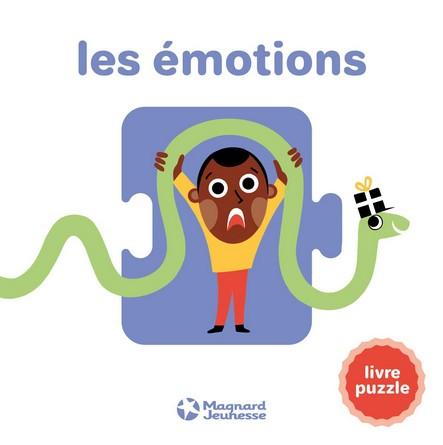 Chronique de l'album jeunesse Les émotions