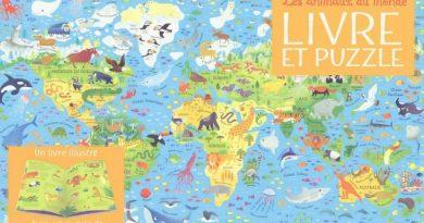 Chronique du livre Les animaux du monde – Livre et puzzle
