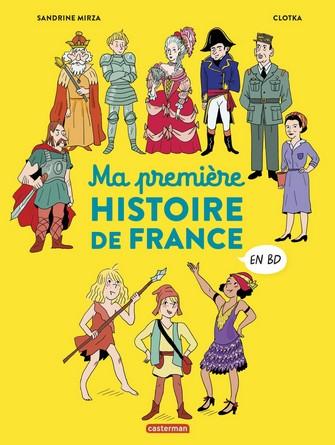 Chronique de l'album jeunesse Ma première histoire de France en BD