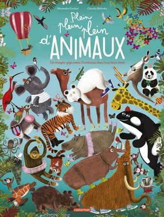 Chronique de l'album jeunesse Plein plein plein d'animaux