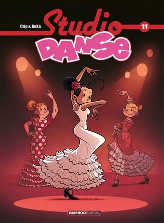Chronique de la bande dessinée jeunesse Studio Danse