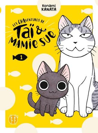 Chronique du manga Les chaventure de Taï et mamie Sue