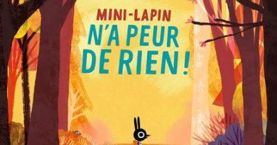 Chronique de l'album jeunesse Mini-Lapin n'a peur de rien !