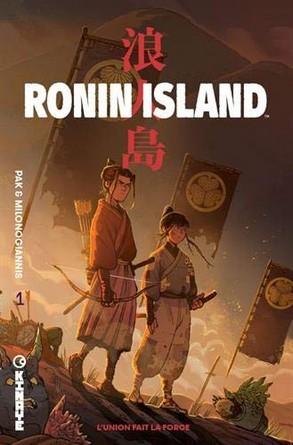 Chronique de la bande dessinée Ronin Island