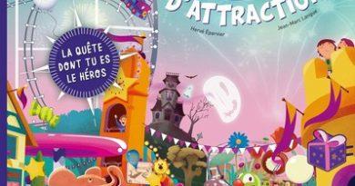 Chronique de l'album jeunesse Journée sensationnelle au parc d'attraction