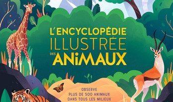 Chronique de l'album jeunesse L'encyclopédie illustrée des animaux