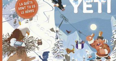 Chronique de l'album jeunesse La glaciale chasse au Yéti