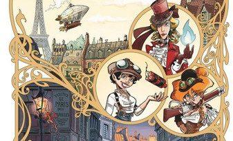 Chronique de la bande dessinée Les Artilleuses - Le vol de la Sigillaire