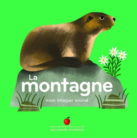 Chronique de l'album jeunesse Mon imagier animé – La montagne