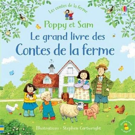 Chronique de l'album jeunesse Poppy et Sam – Le grand livre des contes de la ferme
