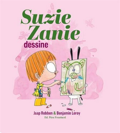 Chronique de l'album jeunesse Suzie Zanie dessine
