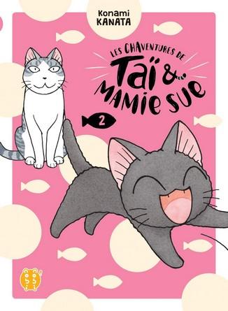 Chronique du manga Les Chaventures de Taï et Mamie Sue T2