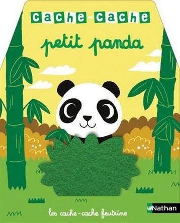 Chronique de l'album jeunesse Les cache-cache feutrine - Cache-cache petit panda